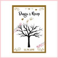 Düğün Ağacı Kanvas Tablo