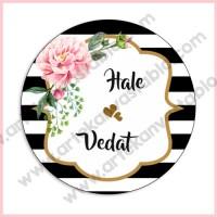 Etiket - Sticker (Düğün - Nişan - Kına)