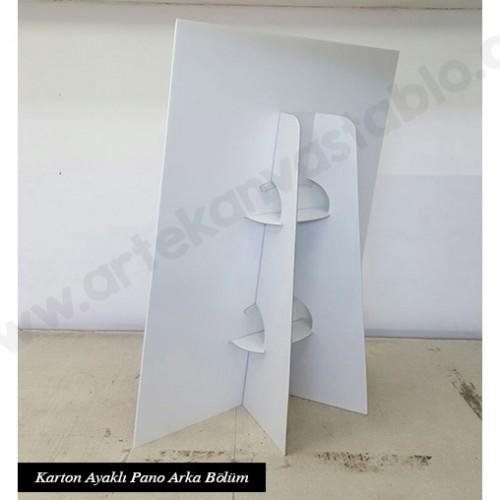 Karton Ayaklı Pano Arka Bölüm