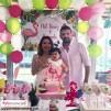 Doğum Günü Pano / Branda Afiş Flamingo Ananas Temalı