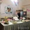 Doğum Günü Pano/Branda Afiş Gümüş Çerçeve