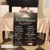 Düğün Nişan Misafir Karşılama Panosu 0260
