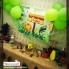Doğum Günü Pano / Branda Afiş Orman Temalı