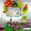 Doğum Günü Pano/Branda Afiş Safari Temalı