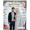Düğün - Nişan Hatırası Branda Banner 180x200 cm