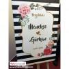 Düğün Nişan Misafir Karşılama Panosu 0188