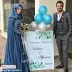 Düğün Nişan Misafir Karşılama Panosu 0149