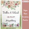 Düğün Nişan Misafir Karşılama Panosu 0222