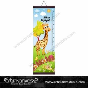 Boy Ölçer Branda 150x50 cm Zürafa 001