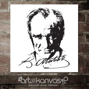 Mustafa Kemal Atatürk Kanvas Tablo