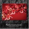 Kırmızı Aslanağzı Çiçeği Kanvas Tablo