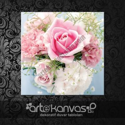 Çiçekler Kanvas Tablo 6