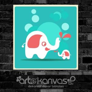Filler Çocuk Odası Kanvas Tablo