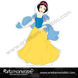Pamuk Prenses Kesimli Dekor Pano