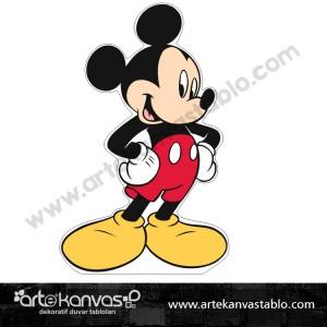 Mickey Mouse Kesimli Dekor Pano