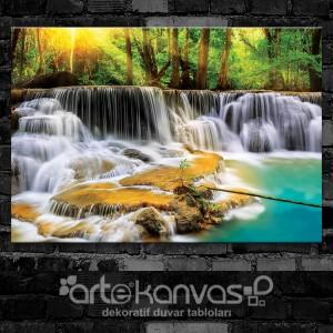 Thailand Ormanları Kanvas Tablo