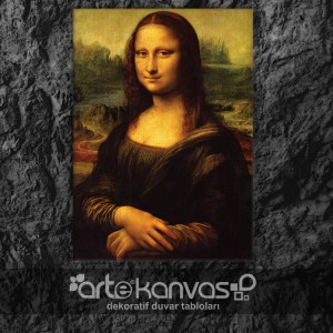 Mona Lisa Kanvas Tablo