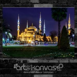 İstanbul Sultan Ahmet Cami Kanvas Tablo