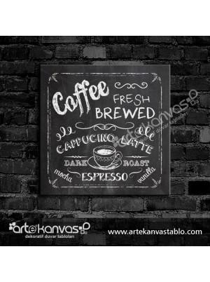 Coffee Love Kanvas Tablo