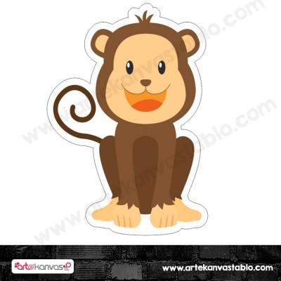 Maymun Kesimli Dekor Pano