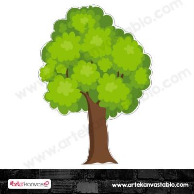 Ağaç Kesimli Dekor Pano