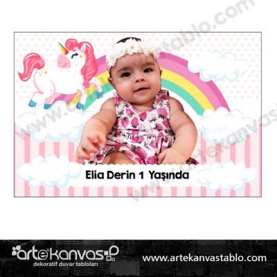 Fotoğraflı Magnet Unicorn Little Pony Temalı