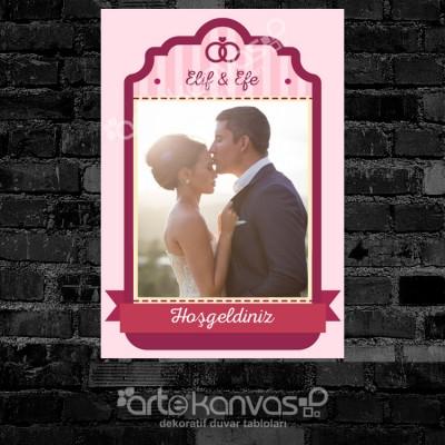 Nişanımıza Hoşgeldiniz Misafir Karşılama Panosu 0064