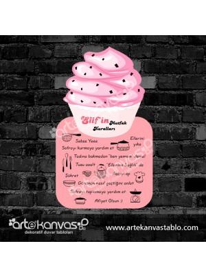 Cupcake Kesimli Mutfak Kuralları