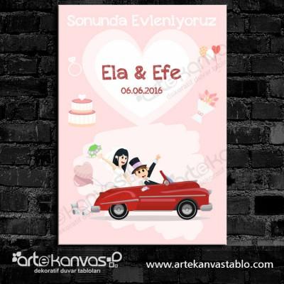 Düğünümüze Hoşgeldiniz Misafir Karşılama Panosu 0100