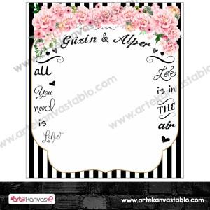 Düğün - Nişan Hatırası Branda Banner