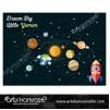 Uzay Tema Pano/Branda Afiş