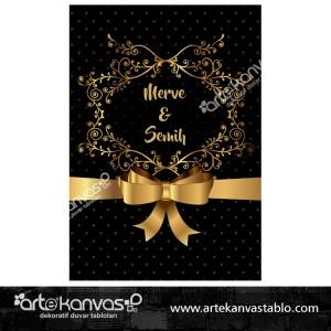 Düğün Nişan Misafir Karşılama Panosu 0211