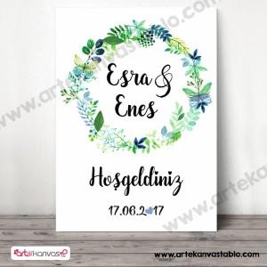 Düğün - Nişan Misafir Karşılama Panosu