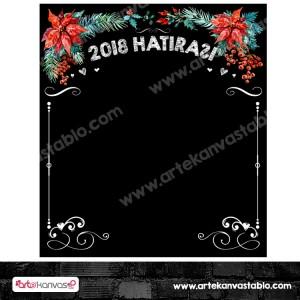 Yeni Yıl - Yılbaşı Hatırası Branda Banner 180x200 cm