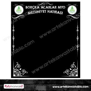 Mezuniyet Hatırası Branda Banner 180x200 cm
