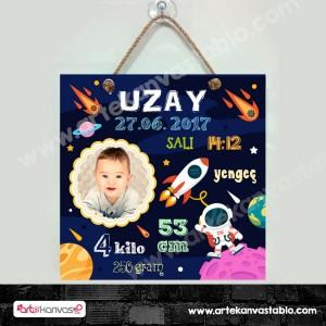 Bebek Doğum Hatırası Uzay