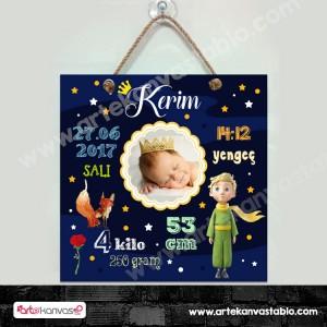 Bebek Doğum Hatırası Küçük Prens