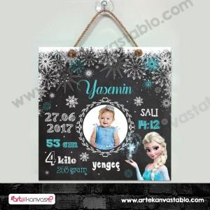 Bebek Doğum Hatırası Elsa Frozen