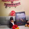 1 Yaş Doğum Günü Panosu Mickey Mouse Temalı 023