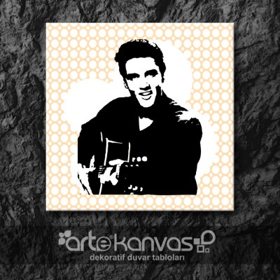 Elvis Presley Kanvas Tablo