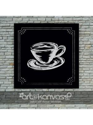 Cup Of Coffee Kanvas Tablo