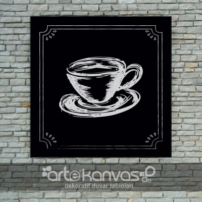 Cup Of Coffee Kanvas Tablo