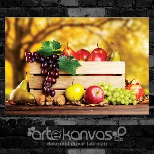 Meyve Kasası Kanvas Tablo
