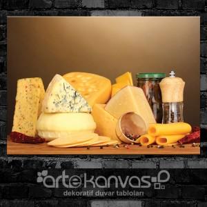 Peynir Çeşitleri Kanvas Tablo