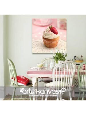 Cupcake Kanvas Tablo