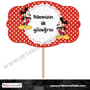 Konuşma Balonu 06 Mickey Mouse