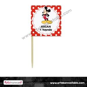 Süslü Kürdan 06 Mickey Mouse