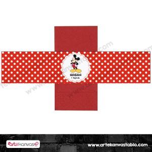 Peçete Sargısı Mickey Mouse 21x5 cm