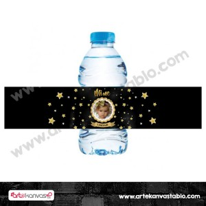 Şişe Etiketi Yıldızlı Twinkle Little Stars 21x5 cm