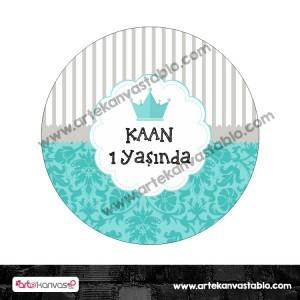 Tabak Etiketi 13x13 cm 008